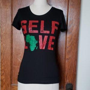 "Tops - ""Self Love"" Africa tee"